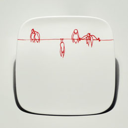 Shhh Series Plate by Bailey Doesn\'t Bark