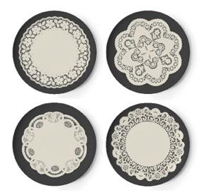 Thomas Paul Gothic Doily Melamine plates