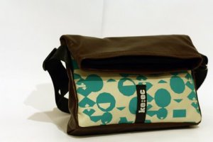 Keec messenger bag, available from Bamakko